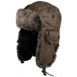 Chapka de chasse façon cuir vieilli Somlys 908