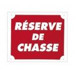 Pack 10 pancartes de chasse RÉSERVE DE CHASSE