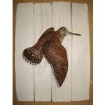 Sculpture animalière Cap Vert Bécasse en vol