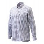 Chemise de chasse Beretta Classic - Blanc & Prune