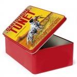 Boîte métallique vintage Tunet