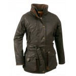 Veste de chasse Club Interchasse Célestine / Marron