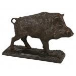 Bronze Sanglier au trot