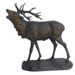 Bronze Cerf brâmant grand modèle