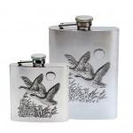 Flasque motif canard à l'envol