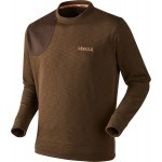 Sweat-shirt de chasse Härkila Sporting Marron