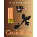 Cartouche Mary Arm Croisillon 12 / Cal. 12 - 34 g
