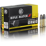 Cartouches 22LR RWS Rifle Match S