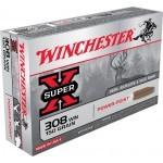 Cartouche Winchester / cal. 308 Win. - Super-X PP 9,7 g