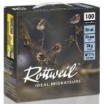 Pack 200 cart. Rottweil Idéal Migrateur / Cal. 20 - 28 g