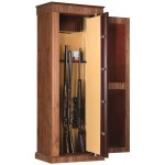 Armoire forte Infac Wood Cover Noyer / 8 armes
