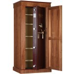 Armoire anti-feu Infac Wood Cover Safe M60 Noyer / 13-18 armes