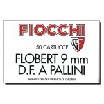 Cartouches 9 mm Flobert Fiocchi Double charge