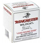 Cartouches 22 LR Winchester Wild Cat