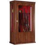 Armoire Infac Wood Cover Safe Vitrine MV90 Noyer / 14 armes
