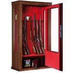 Armoire Infac Wood Cover Safe Vitrine MV90 Chêne / 14 armes