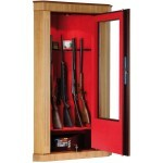 Armoire Infac Wood Cover Safe Vitrine MVR8 Noyer / 8 armes