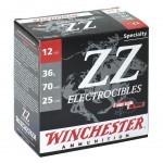 Cartouche Winchester ZZ Electrocibles / Cal. 12 - 36 g