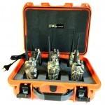 Lot de 6 talkies-walkies Midland G10 avec valise étanche