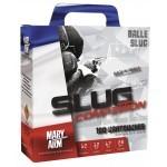 Pack 100 cart. Mary Arm Slug Compétition / Cal. 12 - 28 g