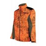 Veste de chasse ProHunt Blouson softshell / Ghost Camo blaze - Taille XL