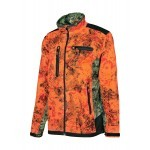 Veste de chasse ProHunt Blouson softshell / Ghost Camo blaze - Taille S