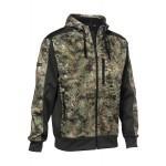 Blouson polaire ProHunt Wolf - Kaki - Snake Forest - Taille XL