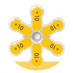 Piles 10 pour oreillettes antibruit Alvis Chasse II