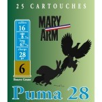 Cartouche Mary Arm Puma 28 / Cal. 16 - 28 g