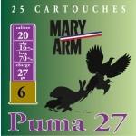 Cartouche Mary Arm Puma 27 / Cal. 20 - 27 g
