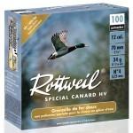 Pack 200 cart. Rottweil Spécial Canard HV / Cal. 12 - 34 g