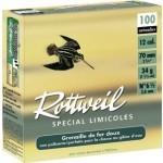 Pack 200 cart. Rottweil Spécial Limicoles / Cal. 12 - 34 g