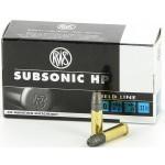 Cartouches 22 LR RWS Subsonic HP
