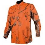 Chemise de chasse Camo Orange Somlys 1501