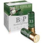 Cartouche B & P Valle Steel 33 Magnum / Cal. 12 - 33 g