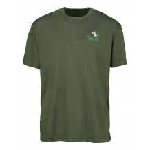 Tee-shirt de chasse Percussion brodé Canard