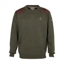 Pull de chasse Percussion col rond brodé Logo - Taille 2XL