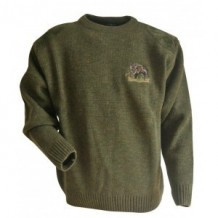 Pull de chasse LMA brodé Sanglier - Taille 7 / 3XL