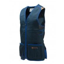 Gilet de tir Beretta Trap Cotton - Bleu