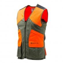 Gilet de chasse Beretta Wildtrail - Vert & Orange