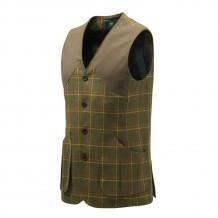 Gilet de chasse Beretta St James - Tweed Vert & Jaune