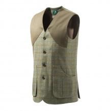 Gilet de chasse Beretta St James - Tweed Vert