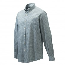 Chemise de chasse Beretta Wood - Blanc & Vert