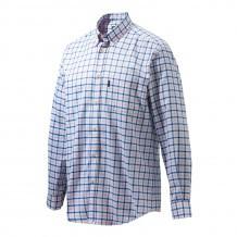 Chemise de chasse Beretta Classic - Blanc & Bleu
