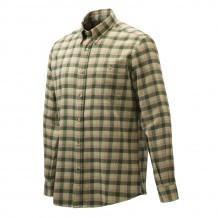 Chemise de chasse Beretta Wood Flannel - Vert & Orange