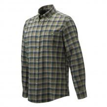 Chemise de chasse Beretta Wood Flannel - Vert & Bleu
