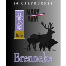Cartouche Mary Arm Brenneke 28 / Cal. 28 - 18 g