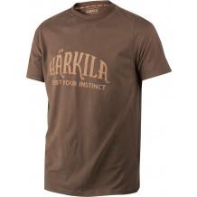 Tee-shirt de chasse Härkila Marron