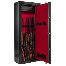Armoire forte Rietti Premium 10 armes + coffre intérieur