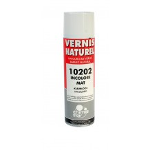 Vernis cellulosique mat naturel aérosol 50 ml